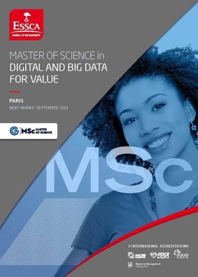 ESSCA MSc in Digital and Big Data