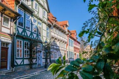 Half-timbered quarter Hildesheim