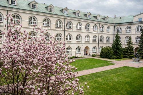 KUL courtyard