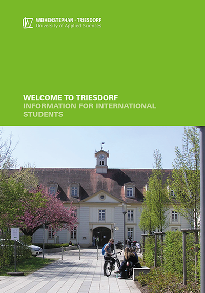 Information brochure for international students on the Triesdorf campus