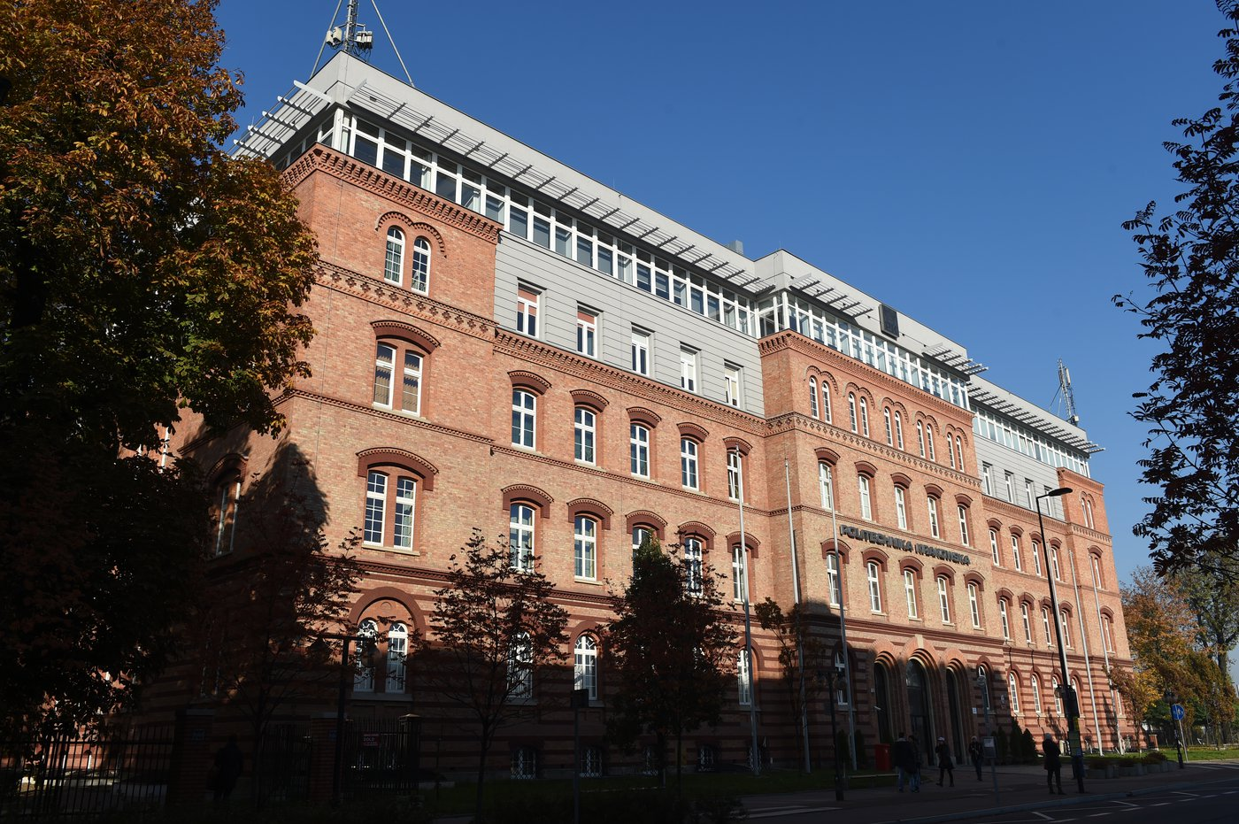 Main building of the Cracow University of Technology